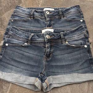 Guess Jeans Shorts Bundle - Size 27